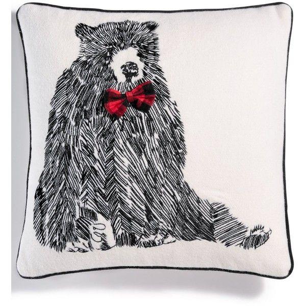 Martha Stewart Collection Bowtie Bear 40 Square Decorative My Unique Martha Stewart Decorative Dog Pillows