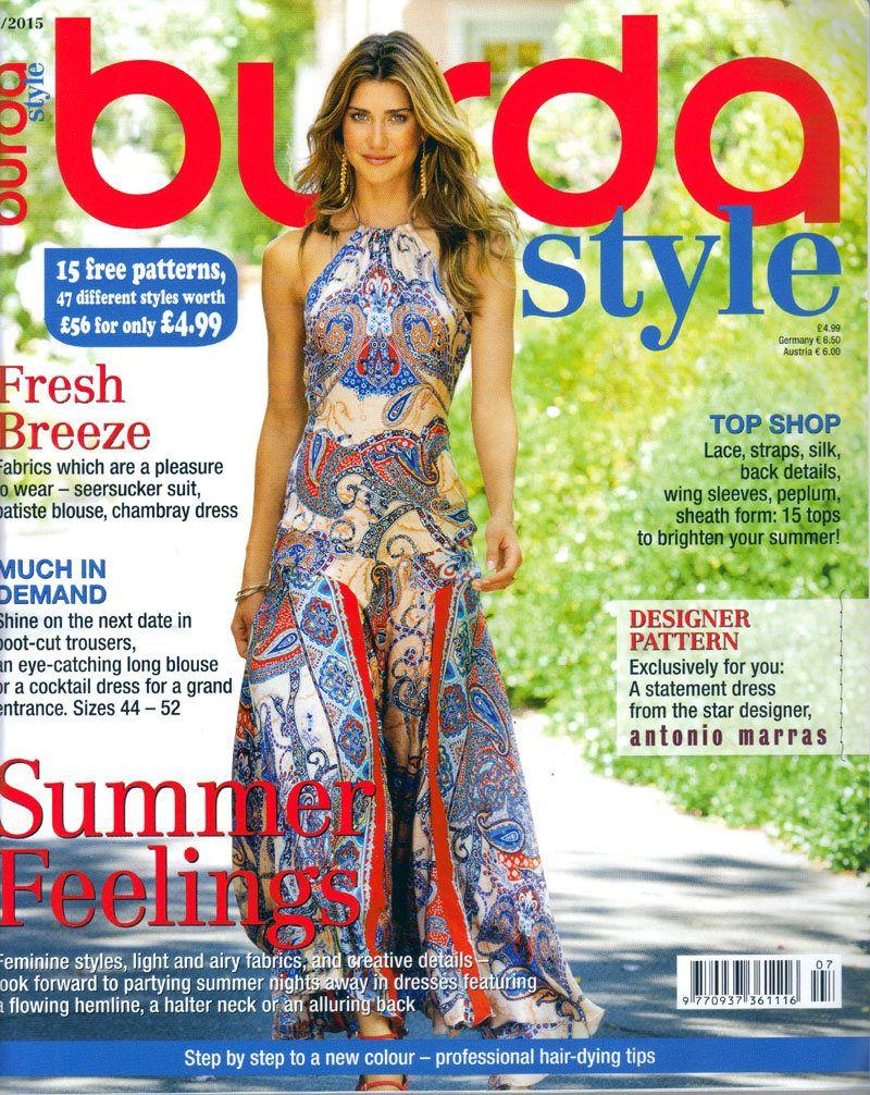 Burda style magazine 72015 english sewing patterns by burda style magazine 72015 english sewing patterns by honeyjamsuniques on etsy jeuxipadfo Image collections
