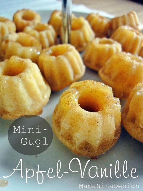 [baked with love] - Apfel-Vanille-Gugl