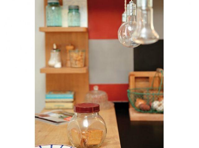 Deco cuisine vintage Idées pour la maison Pinterest Lamp light - Idee Deco Cuisine Vintage