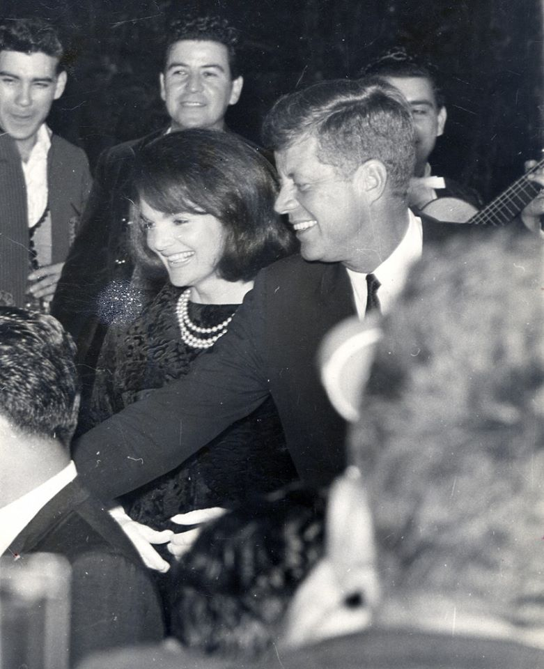 """President & Mrs. Kennedy-- (Jackie disliked being called """"First Lady"""" & instructed her staff to refer to her only as """"Mrs. Kennedy""""--she felt """"First Lady"""" sounded like a race horse)"""