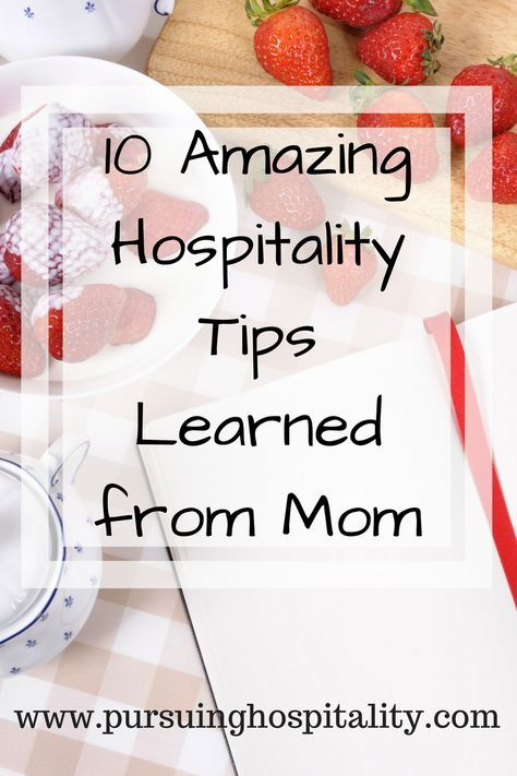10 Amazing Hospitality Tips I learned from mom. Great tips to help you prepare your home to welcome guest into your home. #Hospitality #pursuinghospitality #overnightguest #airbnbhost
