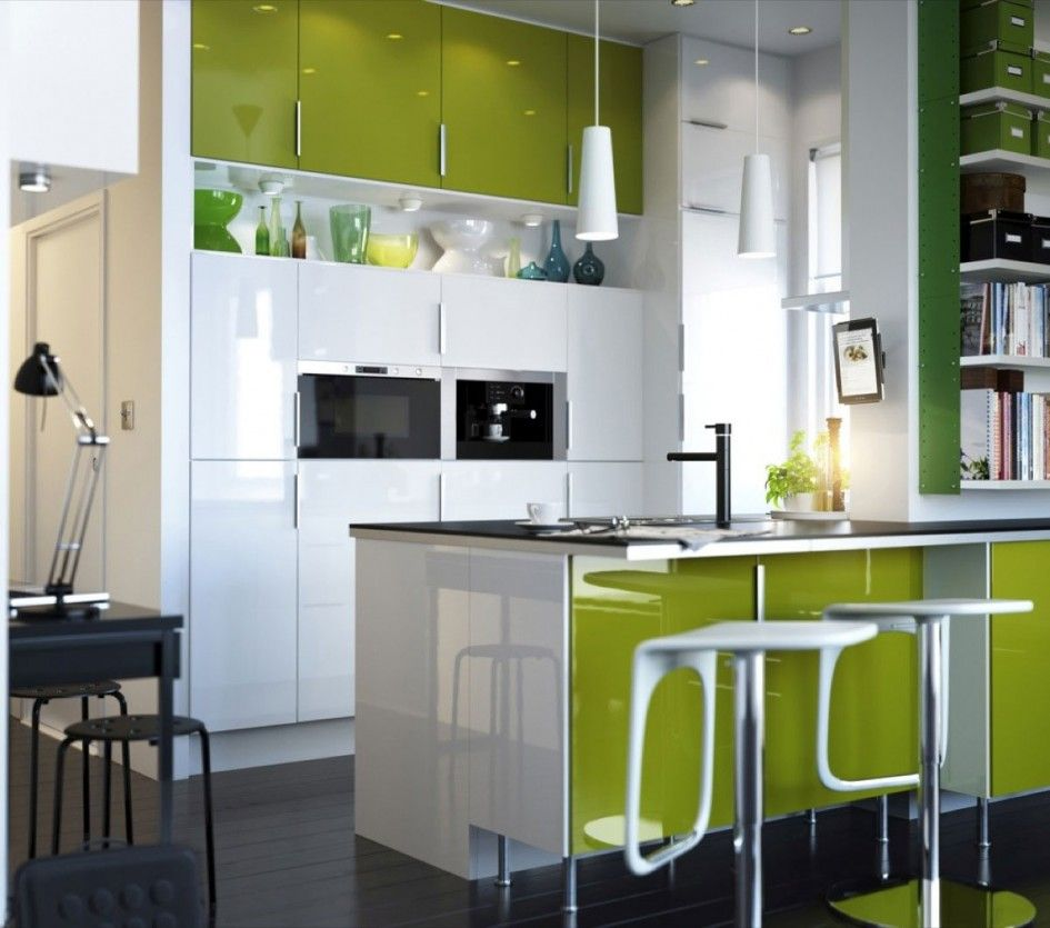 kitchen cabinet designs for small space: white small kitchen