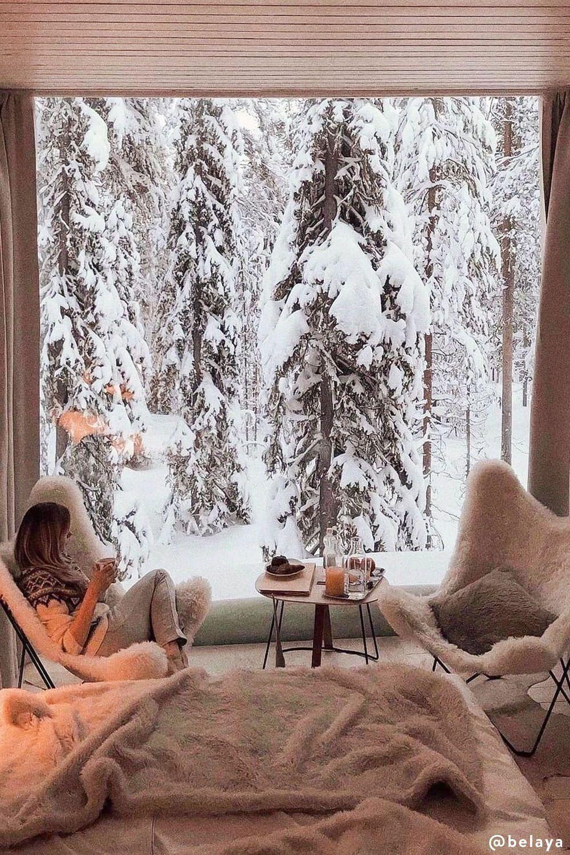 Winter Look: Einrichten im Chalet Chic
