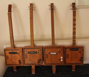 cigar box gitarre in hessen weinbach musikinstrumente. Black Bedroom Furniture Sets. Home Design Ideas