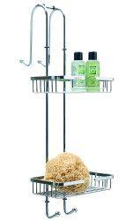duschregal zum anh ngen duschregal f r die duschwand mit. Black Bedroom Furniture Sets. Home Design Ideas