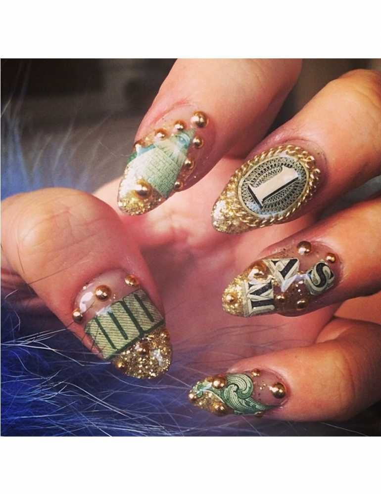 Blake Lively\'s Rainbow Negative Space Nail Art Is The Most Fun Mani ...