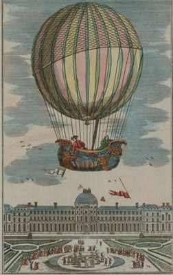 hot balloon first information air