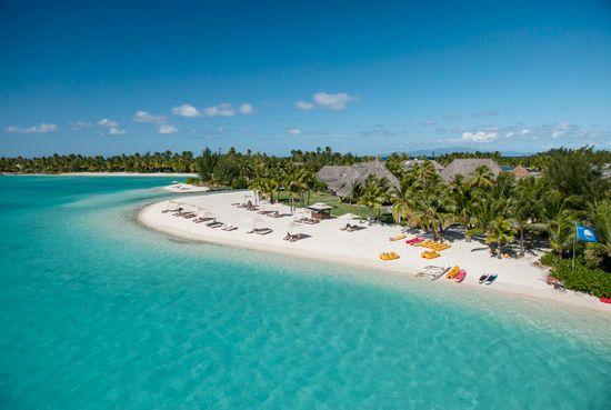 St. Regis Bora Bora Resort Beach