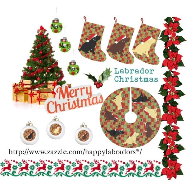 """""""Labrador Christmas Quilt Collection"""" by happylabradors on Polyvore #Labrador #Christmas"""