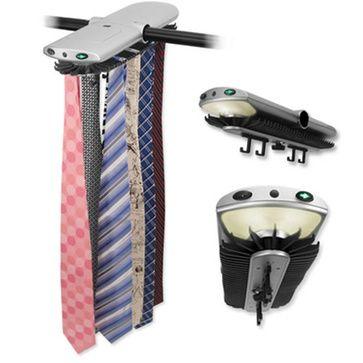 Electronic Closet Tie Rack