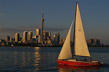 Toronto Harbour in 2007
