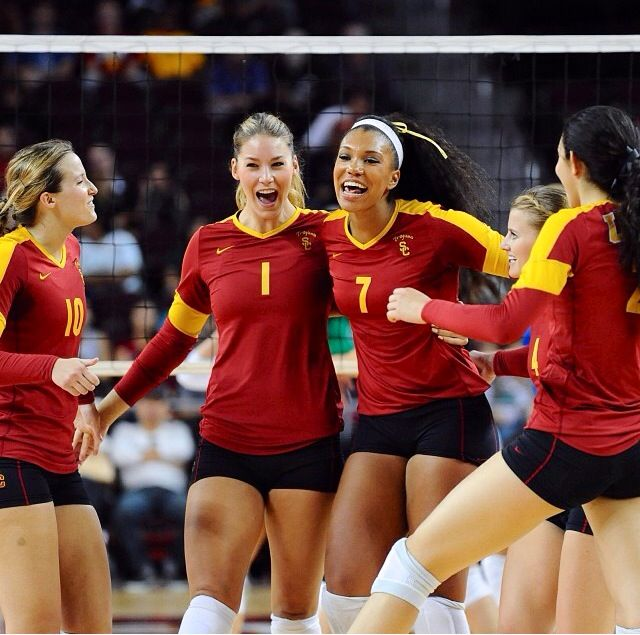 Women Of Troy Female Volleyball Players Women Volleyball Athletic Women