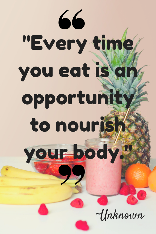 34 Best Healthy Eating Quotes For You and Your Kids! #nutritionhealthyeating