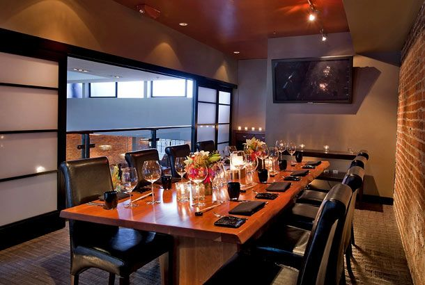 Alexanderu0027s Steakhouse, The Boardroom Capacity: 18, 25 The Smallest Of The Private  Rooms