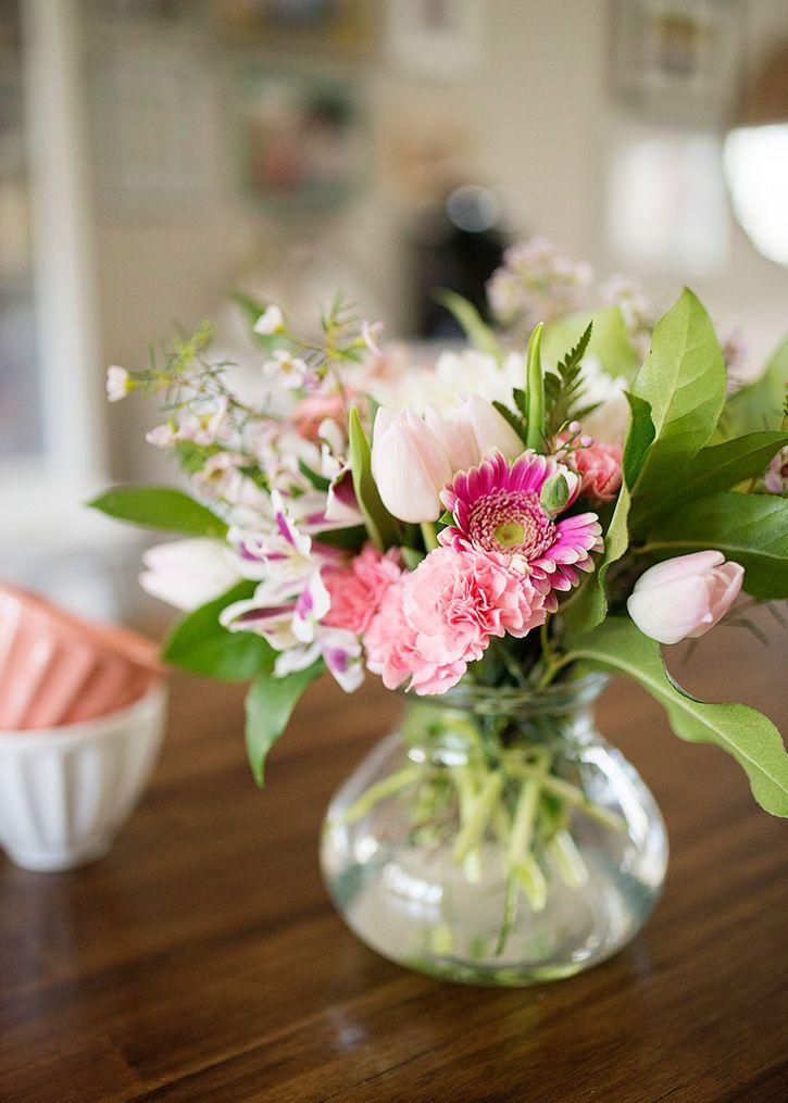 easy fresh flower arrangements   fresh flowers, flower