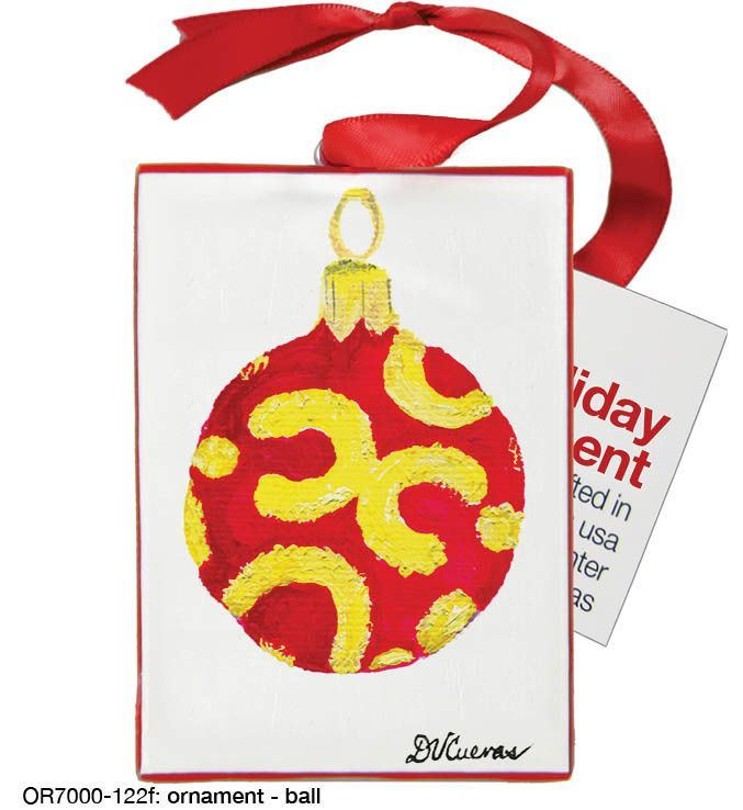 ornament - ball (#7000-122f)