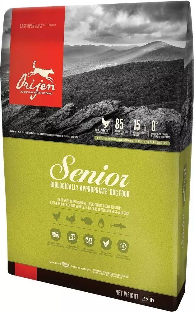 Orijen Senior Dry Dog Food 25 Lb Tried It Love It Click The