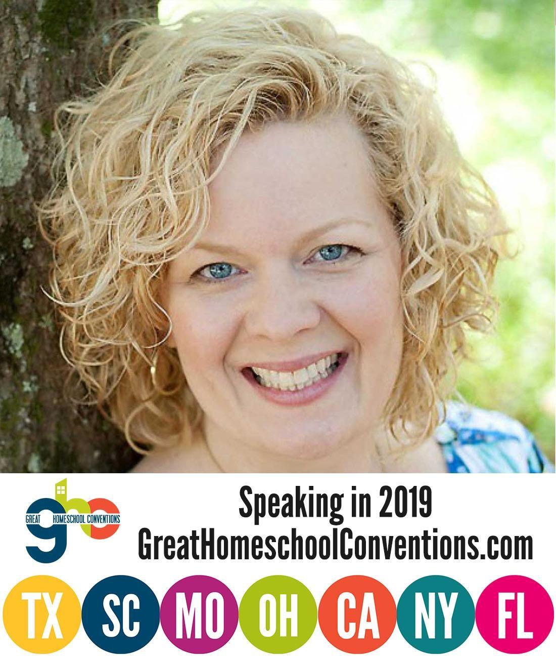 Pam Barnhill Great Homeschool Convention