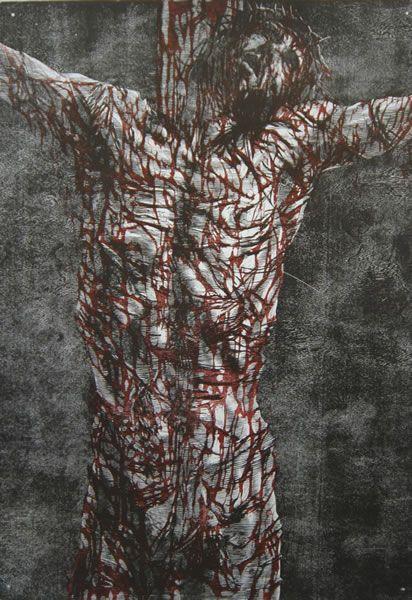 Sam Harrison, crucifixion