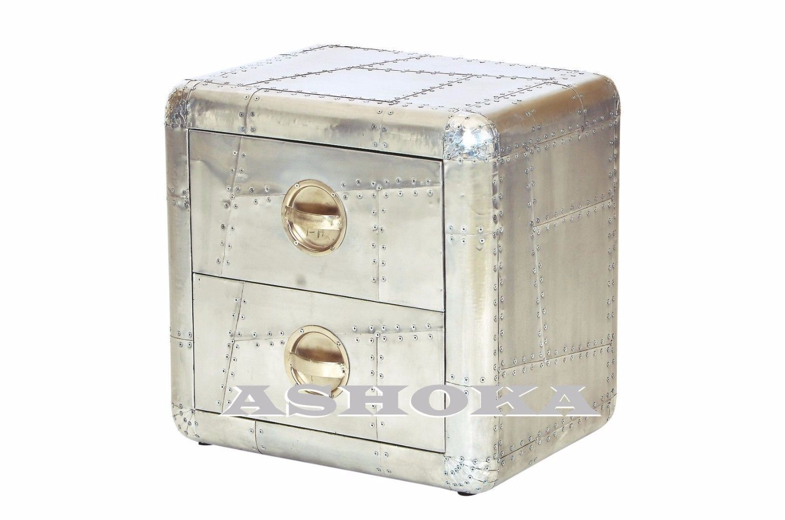 Shop Ashoka Trading And Artware WE Are Manufacturer Of Aviator Furniture  Aviator Aluminium SIDE TABLE 2