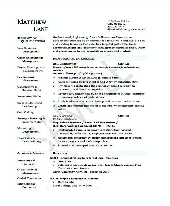 Marketing Account Manager , Account Manager Resume Sample , If you - account manager resume sample