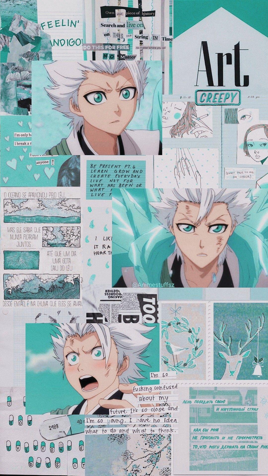 Hitsugaya Bleach Com Imagens Papel De Parede Anime Animes