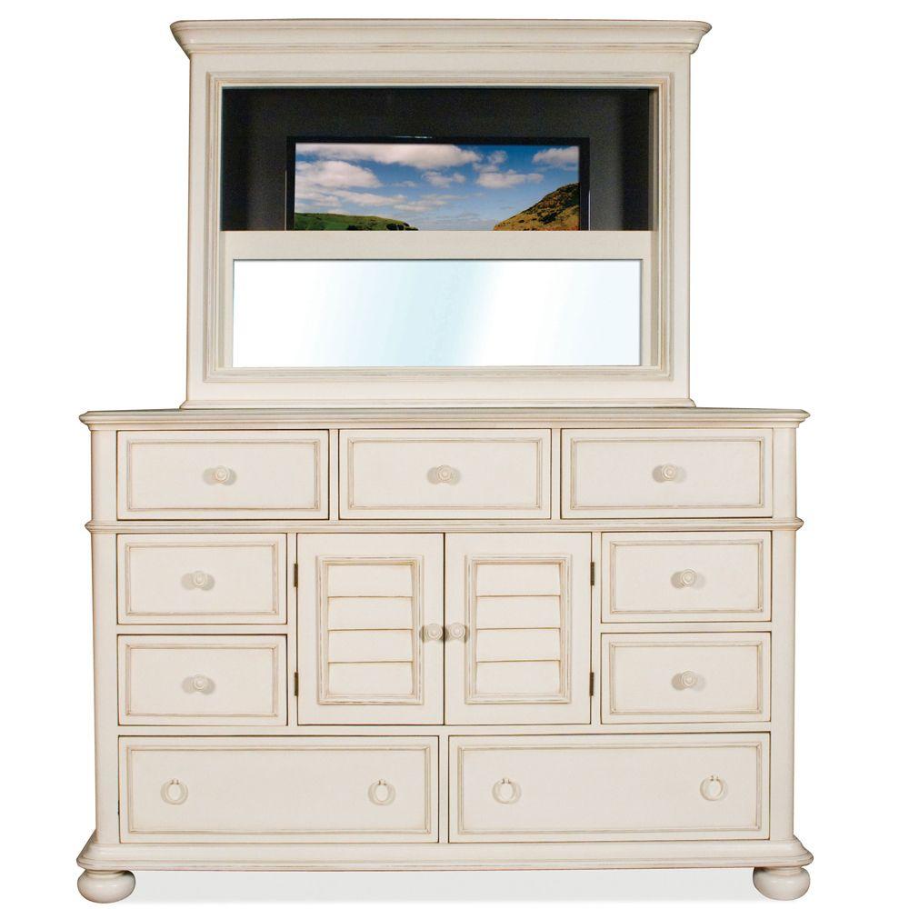 Placid Cove Nine Drawer Media Dresser by Riverside Furniture ...