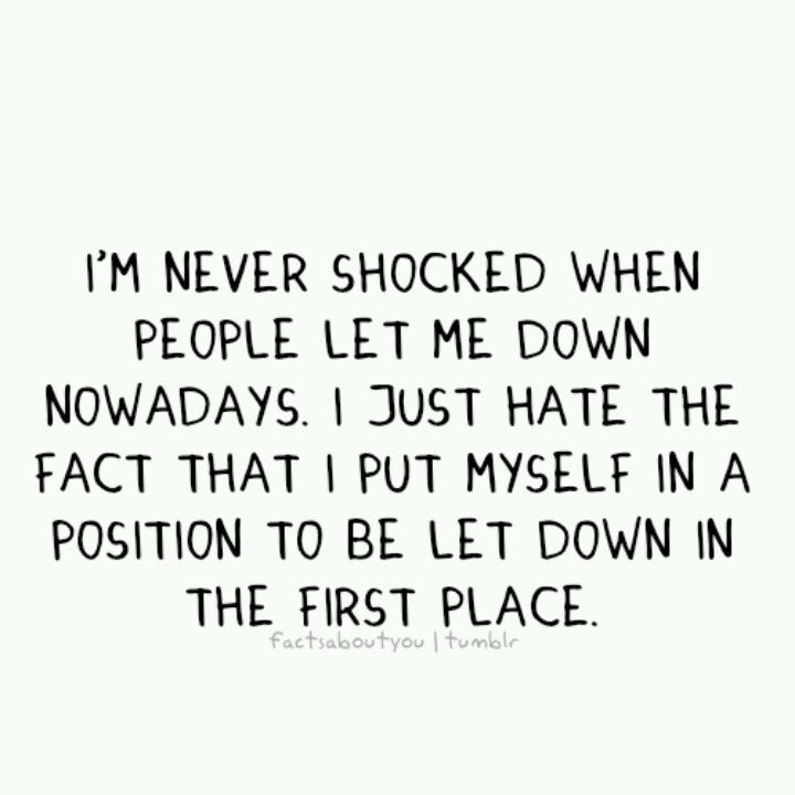 Yeah, mad at myself... Sucks!