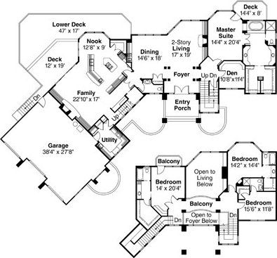 mansion plan example - Mansion House Plans