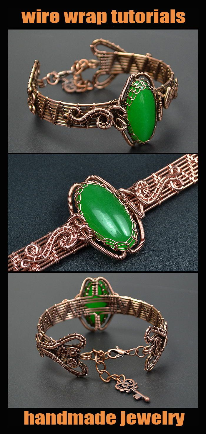 Photo of Wire wrap tutorial – PDF. Wire Wrapped Bracelet