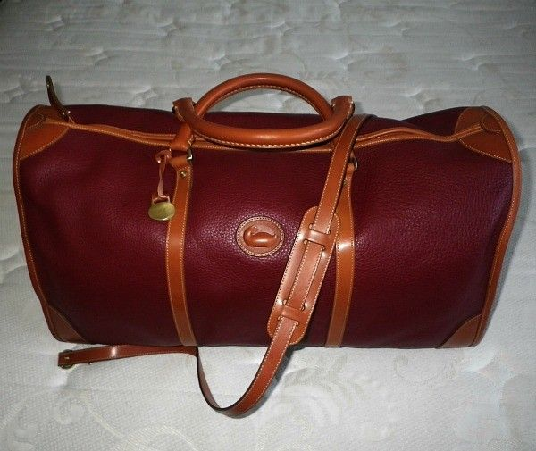 Vintage Dooney And Bourke Duffle Bag