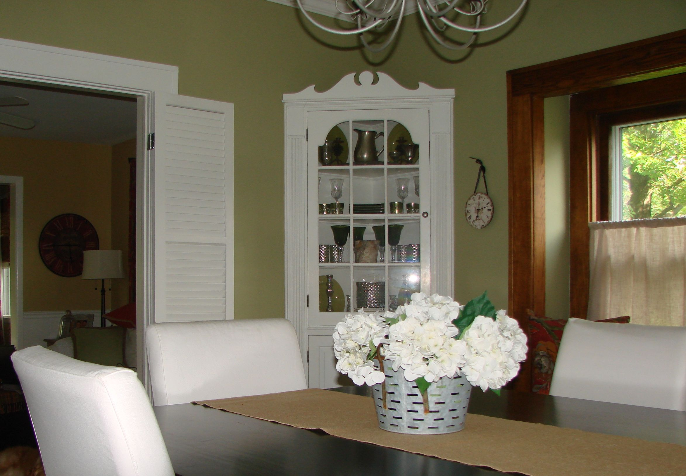 Our Dining Room Sherwin Williams Garden Sage Dining Room Paint