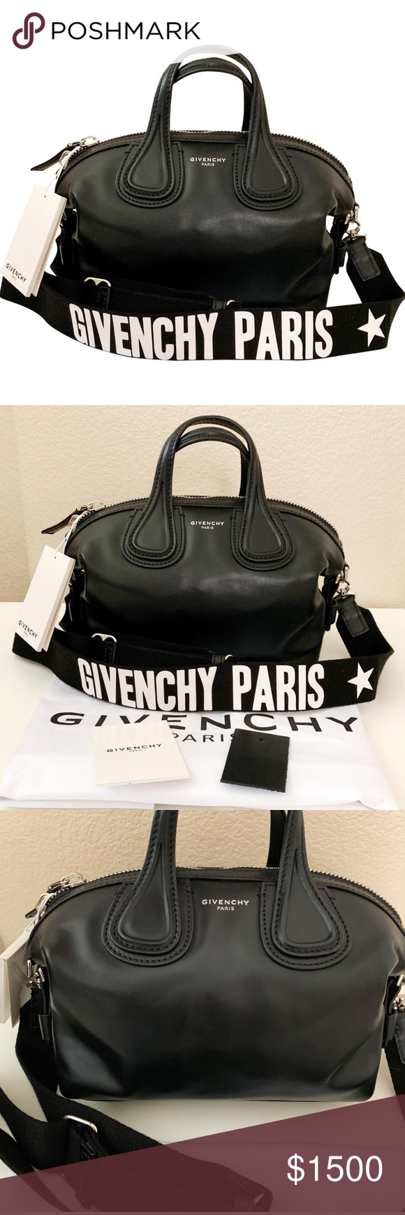 NWT Givenchy Micro Nightingale Satchel Logo Strap 💫PRICE FIRM💫 100%  Authentic. New 14f6abed4087f