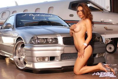 Nude in bmw