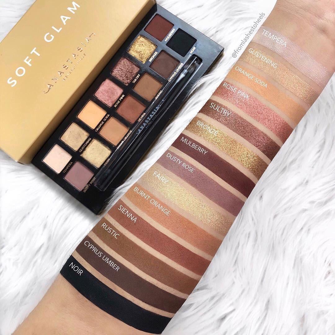 Anastasia Beverly Hills ABH soft glam eyeshadow palette Gallery