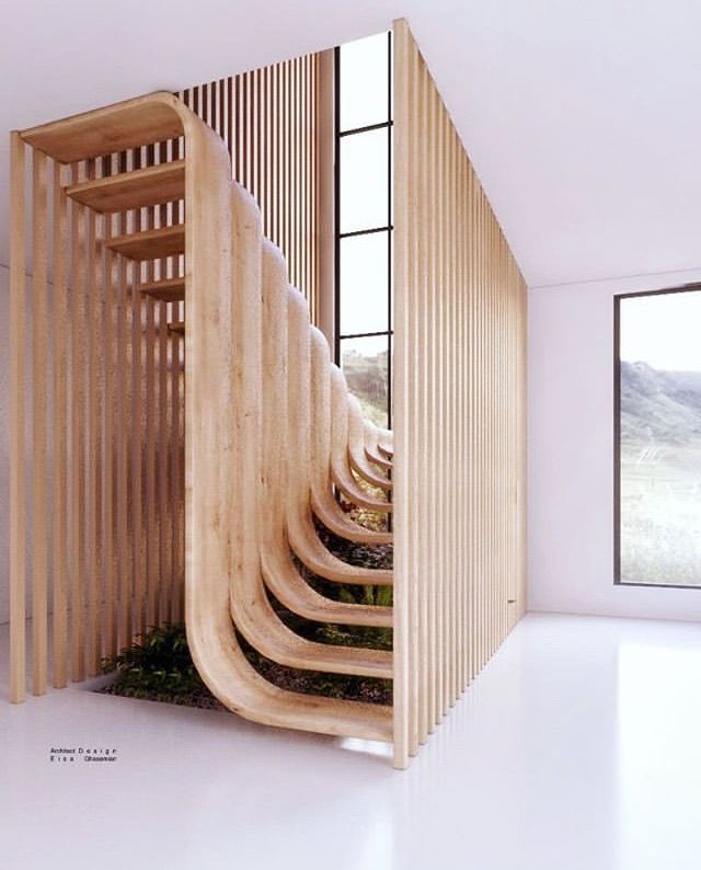 Duplex stairs, Farahi House by Eisa Ghasemian  Wood Workings is part of Architect house - Duplex stairs, Farahi House by Eisa Ghasemian Duplex stairs, Farahi House by Eisa Ghasemian wood house Although many families give their dogs a wooden dog house in their garden, only a few people realize that there are a lot of different kinds of wood offered on the market  Cedar is definitely the most popular wood