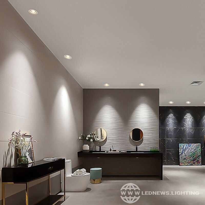 25 05 54 97 Led Deep Cup Recessed Downlight Ceiling Spot Lamp Bedroom Round In 2021 Ceiling Lights Living Room Living Room Spotlights Recessed Lighting Living Room
