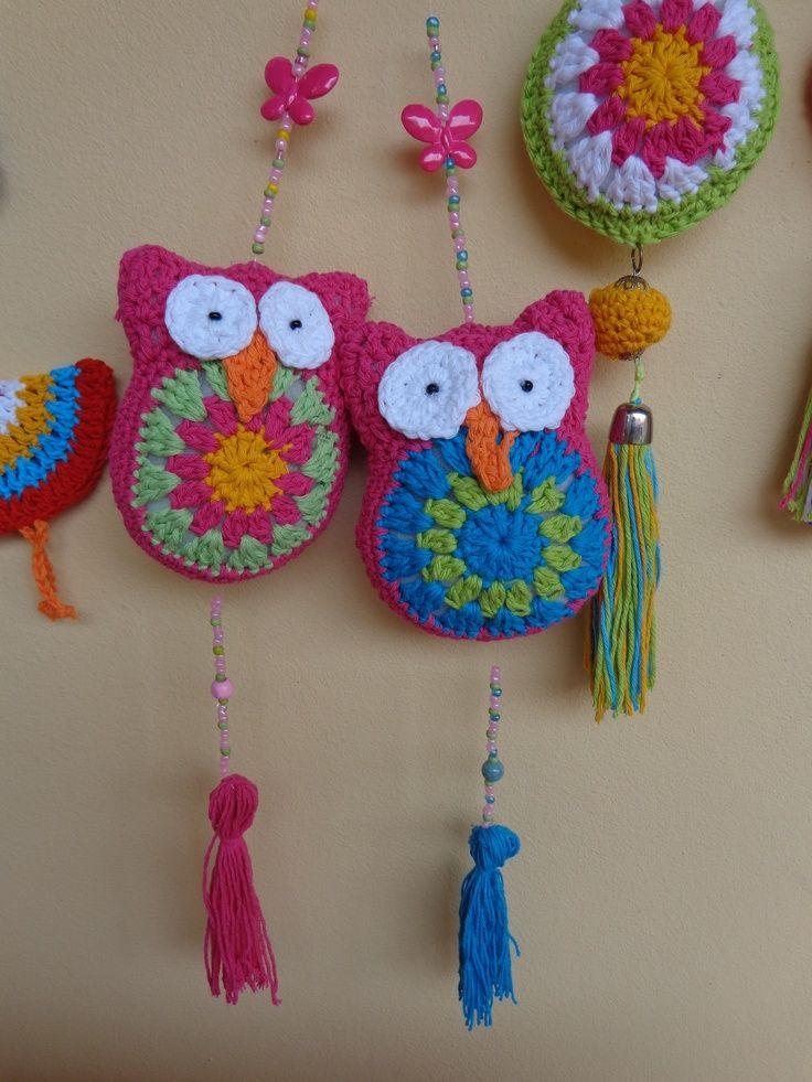 Pin de Karen Bugner en deco crochet   Pinterest   Lechuzas, Patrones ...