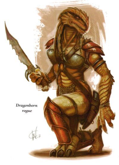 Image Result For Female Dragonborn Barbarian DnD