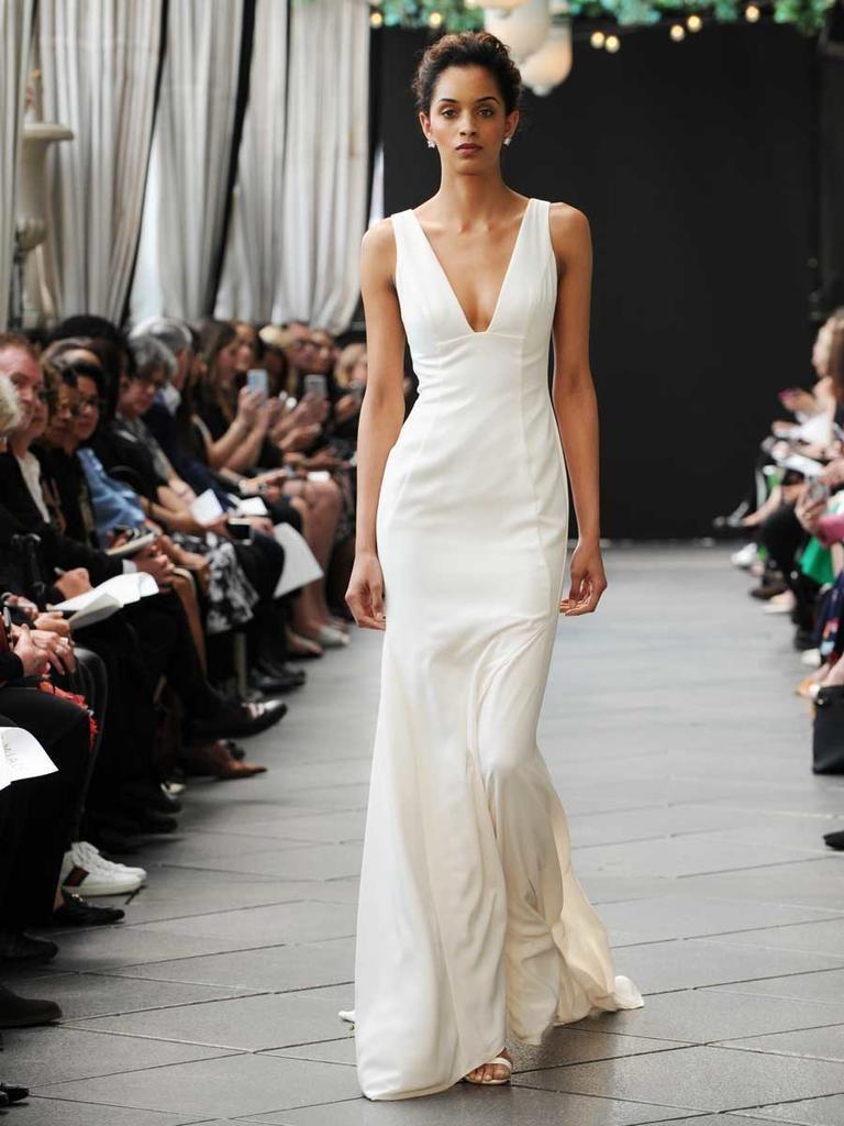 Lace dress vintage april 2019 Nouvelle Amsale Spring  Modern Glamour Meets Timeless
