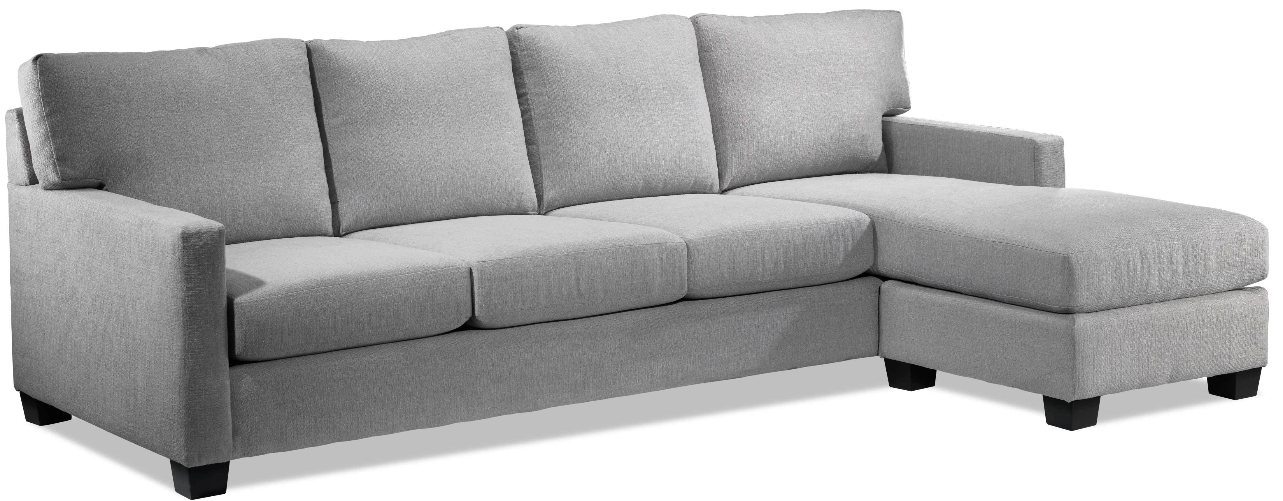 Wondrous Danielle 2 Piece Sectional With Right Facing Chaise Java Andrewgaddart Wooden Chair Designs For Living Room Andrewgaddartcom
