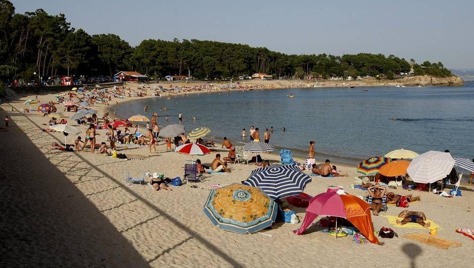 Playas con bandera azul en el 2014. Pobra do Caramiñal. Playa de Cabío-Lombiña