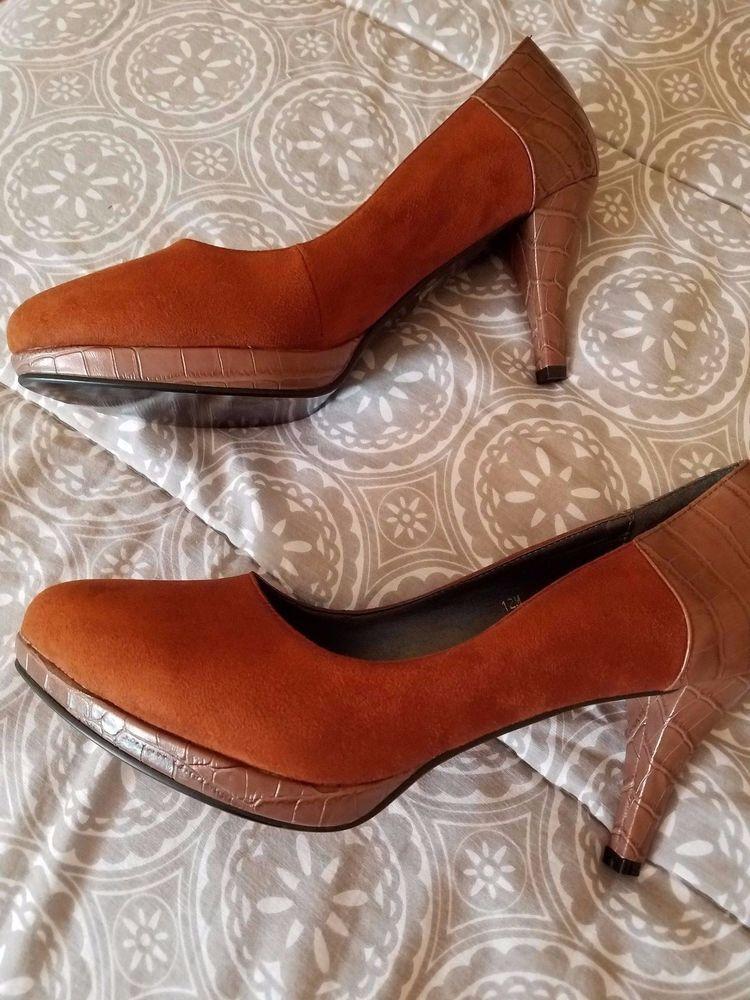 NEW Monroe & Main ladies brown pumps heels size 12 #MonroeMain #PumpsClassicsCheck out NEW Monroe & Main ladies brown pumps heels size 12 #MonroeMain #PumpsClassics http://www.ebay.com/itm/-/263044157626?roken=cUgayN&soutkn=srqBVc via @eBay