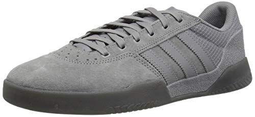 adidas Men's City Cup Skate Shoe, Three, Grey Five Fabric