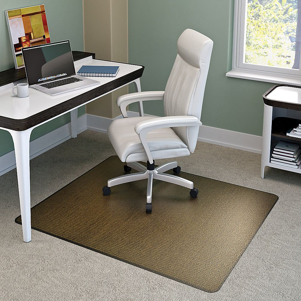 Deflect o harbour pointe decorative chair mat for carpets