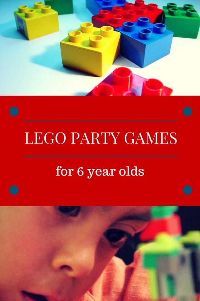 Lego Party Games For 6 Year Olds - My Kids Guide | Lego party ...