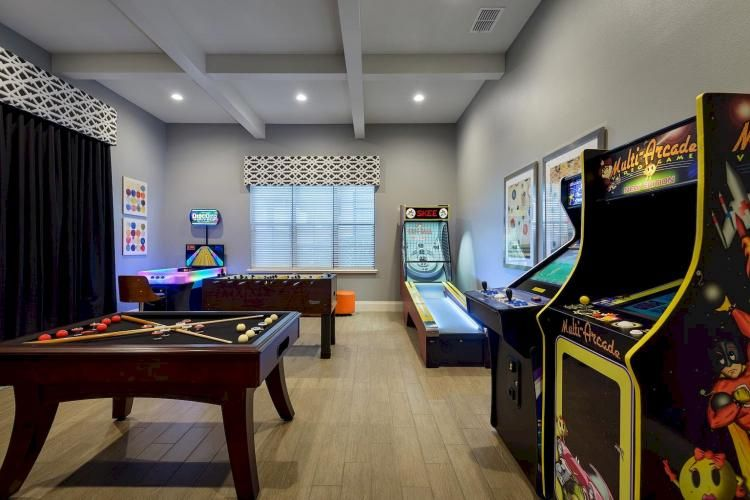 12 Luxury Game Room Ideas Decoration Small Game Rooms Arcade