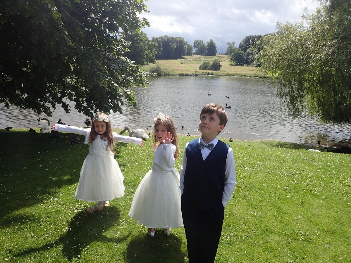 ce35c064ec Beautiful traditional flower girl dresses and page boy outfits