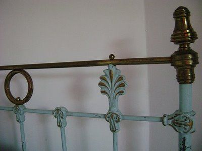 Sophie Honeysuckle S English Decor Painted Brass Beds Paint Brass Brass Bed English Decor